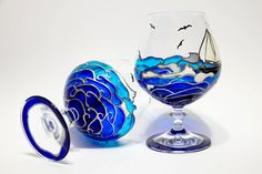 Hey, I found this really awesome Etsy listing at https://www.etsy.com/listing/182508606/beach-theme-wedding-ocean-waves-glasses
