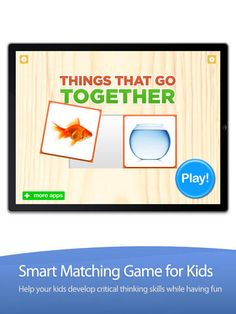 Things That Go Together - Educational App