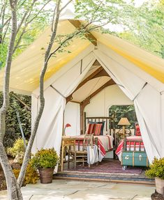 Why Backyard Yurts Make for the Easiest-to-Install Guest House Prefab Guest House, Backyard Guest Houses, Temporary Structures, Cozy Bedroom, Tent Bedroom, Camping Bedroom, Bedroom Ideas, Outdoor Furniture Sets, Outdoor Decor