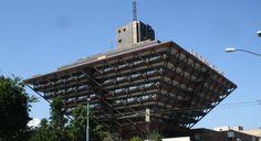 Building of Slovak radio in Bratislava