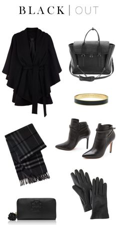 Must-have black pieces for fall & winter