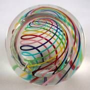 Paul Harrie's Faceted Candy Paperweight!