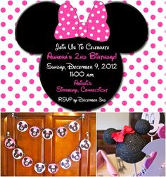"Photo 1 of 4: Birthday ""Minnie Mouse 2nd Birthday"" 