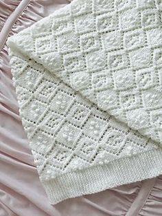 Thine Receiving Blanket pattern by Lynn Christensen