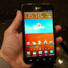 Samsung Galaxy Note II (AT) Review & Rating | PCMag.com - a great possibility for AAC...simply superb.