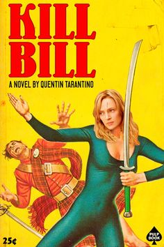 Kill Bill - pulp novel - David Redon