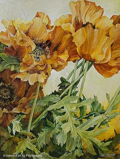 Linda Thompson, 'Bold Moves', 12'' x 16'' | Galerie d'art - Au P'tit Bonheur - Art Gallery
