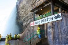 Journey Behind the Falls, Niagara Falls, Canada