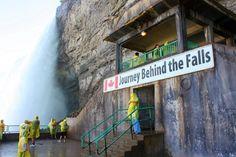 Journey Behind the Falls, Niagara Falls, Canada Fall Vacations, Vacation Trips, Vacation Spots, Niagara Falls Toronto, Canada Travel, Canada Trip, Niagara Falls Vacation, Monuments, East Coast Road Trip