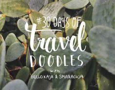 #30daysoftraveldoodles challenge