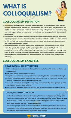 You may have heard the term colloquialism when thinking about the English language, but what exactly is this and what is its function? Teaching English Grammar, English Vocabulary Words, Learn English Words, English Phrases, English Language, Essay Writing Skills, English Writing Skills, Writing Words, English Lessons