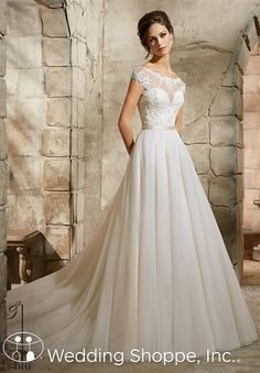 A romantic and affordable ball gown | Blu by Mori Lee 5362