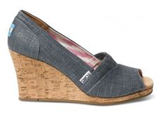 Love these TOMS wedges