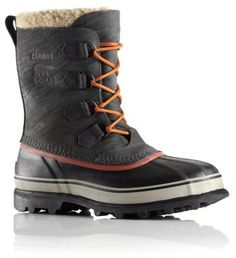 Often imitated but never equaled, the original Sorel boot features a nubuck leather upper with waterproof construction, seam-sealing and a removable ThermoPlus™ felt inner boot for warmth, comfort and protection in cold and wet winter weather.