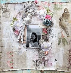 DT project by Helena J. using the January 2015 kit, Bejeweled.   swirlydoos.com