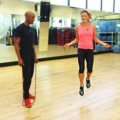 Did you know? A 20 minute jump-rope exercise is equivalent to 45 minutes on a treadmill? Here are some helpful jump-rope moves to help you get thin and lean.