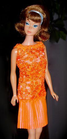Sidepart Barbie in Disco Dater