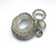 Peta Kruger, Onion Ring Brooch From unnatural Acts | Velvet da Vinci Contemporary Art