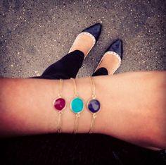 #Riley #bracelets by #BonheurJewelry http://www.bonheurjewelry.com/product/riley/  Buy Now http://www.bonheurjewelry.com/product/riley/ $130.00