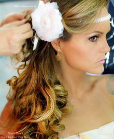 headband para noiva com pérolas