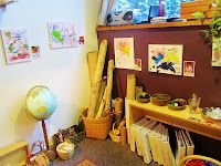 Hilltop Children's Center in Seattle, WA. Such diverse materials and offerings!