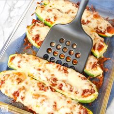 Our Stuffed Keto Zucchini Boats are quick, easy and delicious! We'll show you how to make Italian low carb flavor or pizza zucchini boats with one recipe! Ketogenic Recipes, Ketogenic Diet, Low Carb Recipes, Healthy Recipes, Veggie Snacks, Zucchini Boats, Meals For One, Italian Recipes, Food Videos