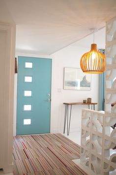 Kimberly's Beautifully Blue & Totally Funky Phoenix Home — House Call | Apartment Therapy