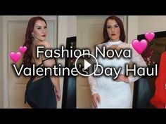 2318a1944c196 Valentines Day to Night Try-On Haul  Sexy Dresses and Lingerie from Fashion  Nova
