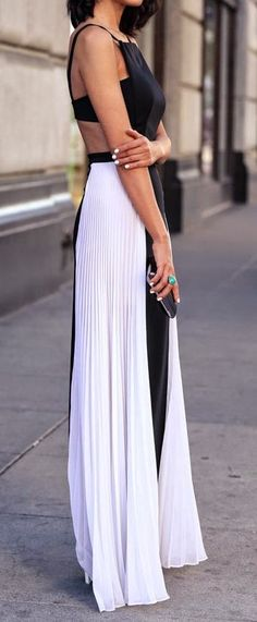 Spring fashion | Street maxi dress