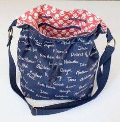 Fairly Bucket Bag Tutorial | Sew Mama Sew | Bringing you outstanding sewing, quilting, and needlework tutorials since 2005.
