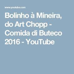 Bolinho à Mineira, do Art Chopp - Comida di Buteco 2016 - YouTube