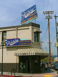 Philippe the Original in Los Angeles, CA.  Featured on The Best Thing I Ever Ate for their French Dipped Sandwiches.