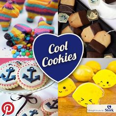 All kinds of cool cookies :)