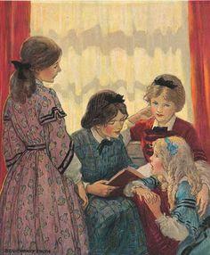 Jessie Willcox Smith...Little Women