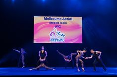 Melbourne Aerial Dance Company 2013 Sydney Latin Festival Student Team : Steven Maltezos - Minx Li Hafon - Adam Jacobs - Michelle Buza - Sasha Brookes - Jowy Guess - Ilsa Dennis - Jonathan Kauri
