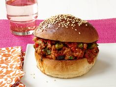 Bombay Sloppy Joes from FoodNetwork.com Looks yummy. Definitely a dish Mike and I will have to work together to make.