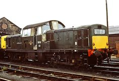 Photographed at Motherwell depot on the July was a total of 12 class 17 locos on the depot that day. Electric Locomotive, Diesel Locomotive, Railroad History, British Rail, Train Engines, Train Tickets, July 1, Diesel Engine, Transportation