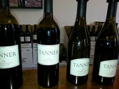 My Dinners w/ Richard & other musings: PANNING FOR GOLD - Tanner Vineyards & Pres. Grant