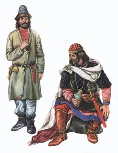 § 57. East Slavic tribes in the territory of Ukraine in the I-V centuries.