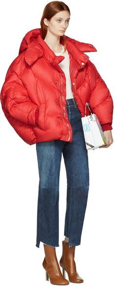 Chen Peng - Red Down Jacket