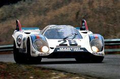1000 Km Zeltweg 1971 Helmut Marko / Gérard Larrousse — Porsche 917K Martini International Racing Team