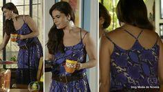 moda da novela Em Família - look da Clara dia 23 de junho/2014