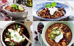 Chili con carne: 9 fantastiske opskrifter