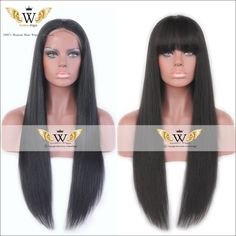 Find More Human Wigs Information about 6A 200density Silky Straight Human Hair Wig Brazilian Full Lace Human Hair Wig Straight Glueless Lace Front Wig Natural Hairline,High Quality natural hairline,China wigs brazilian Suppliers, Cheap glueless lace front from Goddess Wiggie No.1 Store on Aliexpress.com