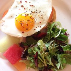 Egg On Toast with Bo