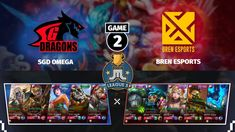 GRAND FINALS - BREN vs SGD OMEGA | GAME 2 | JUSTML LEAGUE 5 | MOBILE LEG... Winners And Losers, Hanabi, Alucard, Mobile Legends, Game 1, Level Up, Bang Bang, Esports, Omega
