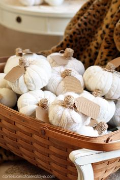 Sweater Pumpkins from confessionsofaserialdiyer.com