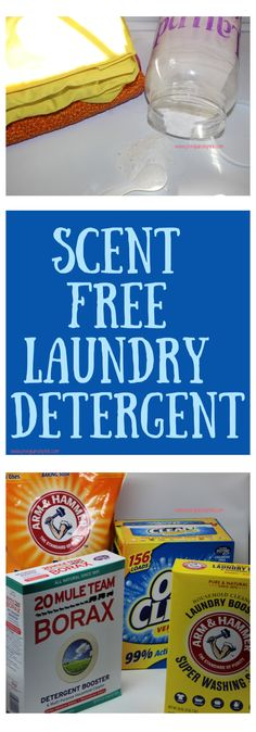 """Scent Free Laundry Detergent - Penguins in Pink - Scent Free Laundry Detergent is a homemade laundry detergent that is comparable to the """"free and - Washing Detergent, Homemade Laundry Detergent, Washing Soda, Cleaning Recipes, House Cleaning Tips, Borax Laundry, Housekeeping Tips, Bathroom Cleaning Hacks, Commercial Laundry"""