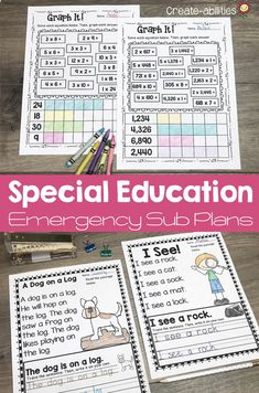 Sub Plans Special Education Teaching 5th Grade, 5th Grade Classroom, 5th Grade Reading, First Grade Teachers, Kindergarten Classroom, Sixth Grade, Second Grade, Emergency Sub Plans, Graphic Organizers