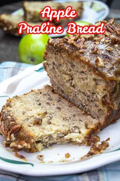 No butter or oil is used in the bread batter yet this Apple Praline Bread is so moist and delicious. The big bonus is the lovely praline topping that is nutty and crunchy and truly yummy!